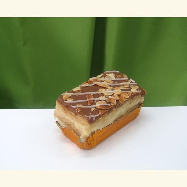 Pastel milhojas de crema